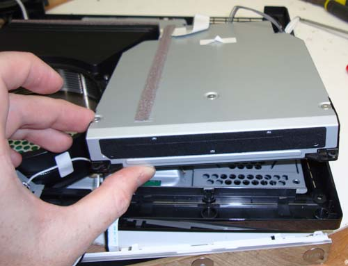 how to open ps3 slim for cleaning
