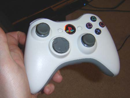 modded xbox 360 controller. PS360 Controller