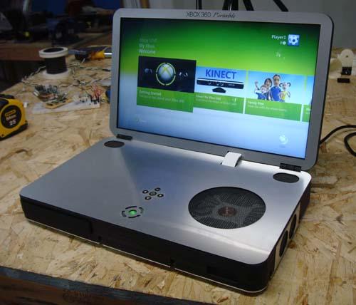 Portable Exhibition Game : Xbox portable web portal for benjamin j heckendorn