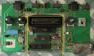 Front Slice the atari 2600 vcs portables site \