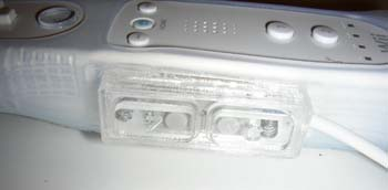 The C and Z buttons on the Wii-Mote